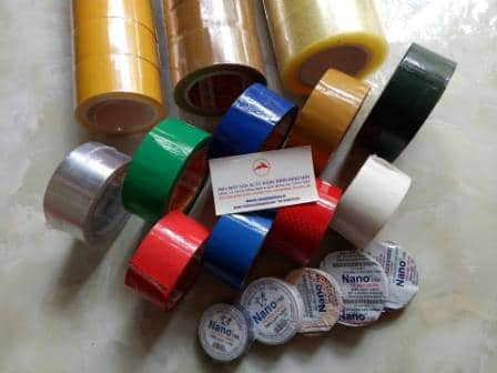 Băng dính màu 90 m 2.4 cm | Nhà máy sản xuất băng dính Minh Sơn