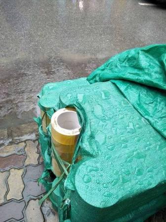 Băng dính màu trong vàng chanh lõi nhựa